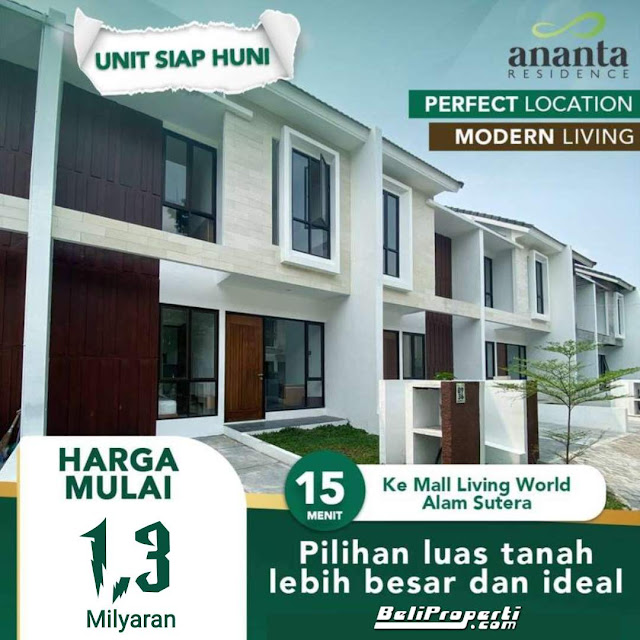 ananta residence cipondoh