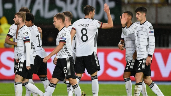 Flick hails ´perfect´ result after victory over North Macedonia seals World Cup spot