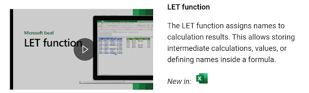 LET function