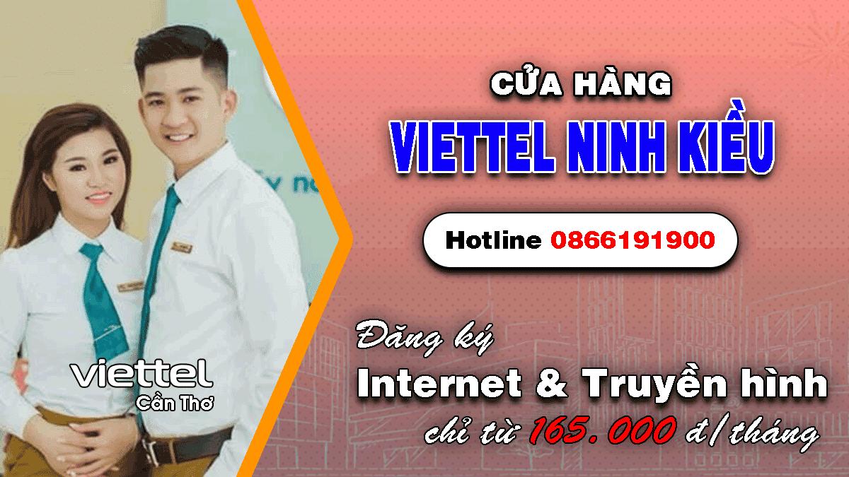 Cửa hàng Viettel Ninh Kiều - Cần Thơ