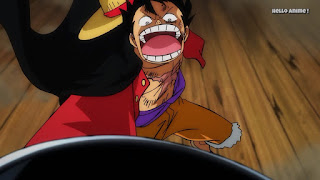 ワンピースアニメ ワノ国編 996話   ONE PIECE モンキー・D・ルフィ  Monkey D. Luffy