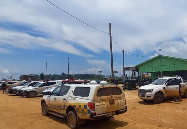 Agora Guajará: Grande operação de desocupação de fazendas tem prisões e ponte queimada em Nova Mutum