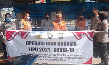 Sasar Pedagang Pasar, Polres Maros Ajak Warga Patuhi Prokes Covid-19