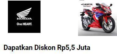 4 Diskon Akhir Tahun 2021 Motor Honda, CBR 250, CB150, Vario 150, dan Genio Kena Diskon !!!