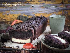 Cake vanille et chocolat à la cream cheese