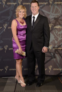 Jamie Yuccas with her ex-spouse John Sheehan