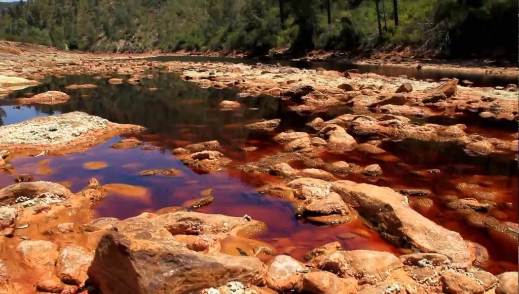 Rio Tinto River Spain