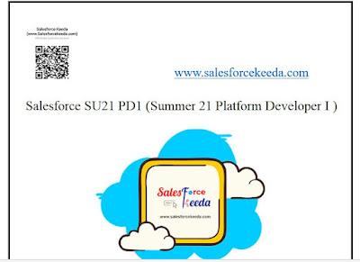 Salesforce SU21 (Summer 21) Pd1 Dumps