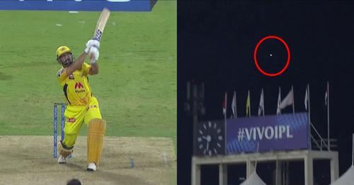 धोनी ने शानदार छक्के की बदौलत दिलाई चेन्नई को जीत, फैंस बोले 2011 वर्ल्ड कप की याद आ गयी