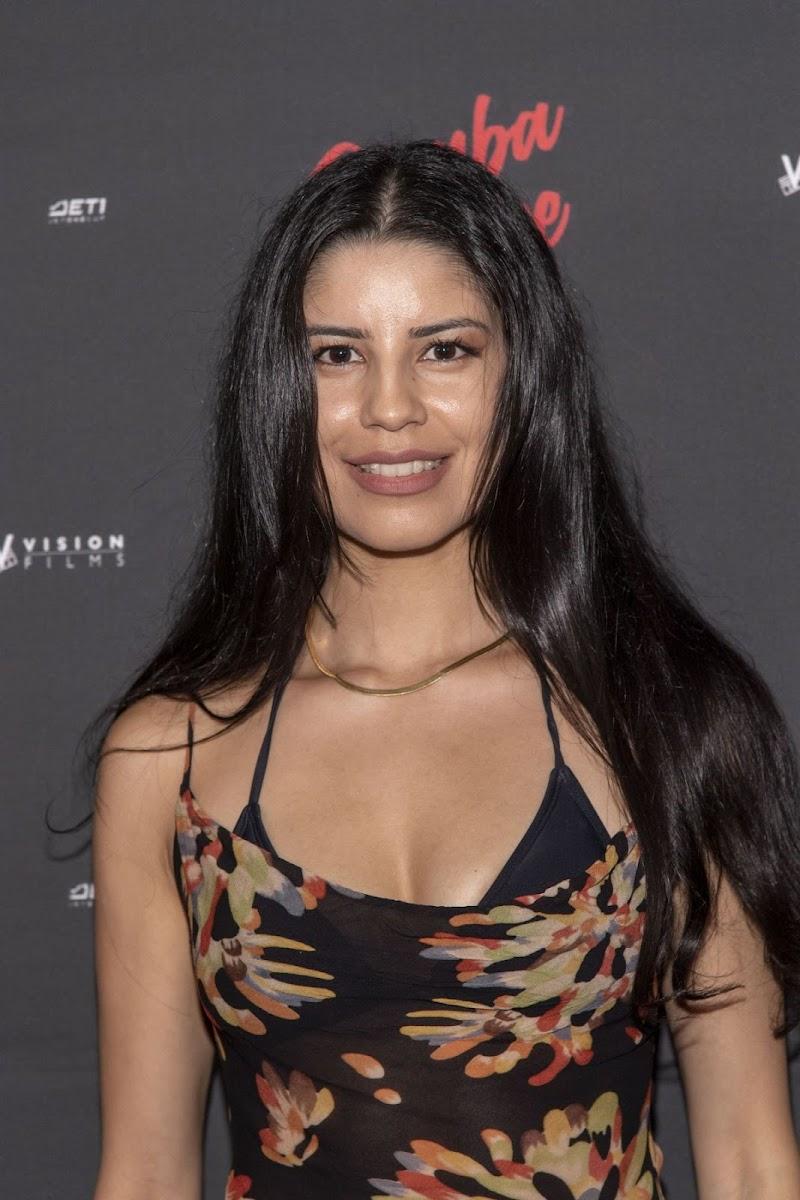 Valeria Quintero Clicks at Rumba Love Premiere at The Landmark Theater in LA 22 Sep-2021