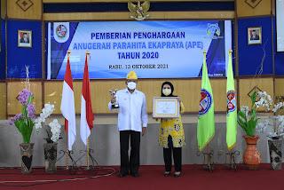 Untuk Kelima Kalinya, Kabupaten Deli Serdang Terima Penghargaan APE 2020  Dari Kementerian PPPA