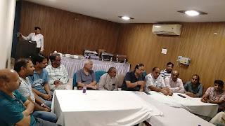 सीईपीसी चुनाव: एक गुट ने जारी किया अपना मैनिफेस्टो   #NayaSaberaNetwork