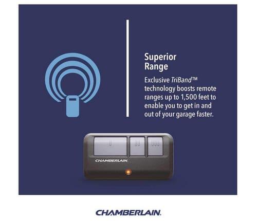 Chamberlain B970T Smart Garage Door Opener