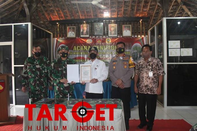 Bupati Haryanto dan Dandim 0718 Pati Resmi Menutup Program TMMD Sengkuyung di Balai Desa Karangawen