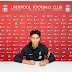 Liverpool wonderkid Gordon signs first professional contract at Anfield
