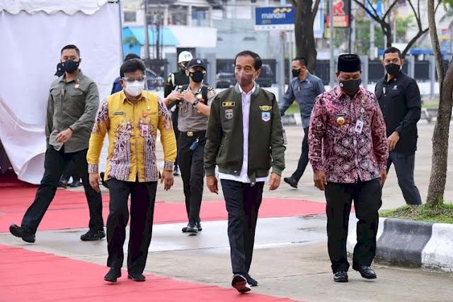 Jokowi Tergetkan 70 Persen Capaian Vaksinasi Di Kalsel Harus Capai Akhir Tahun