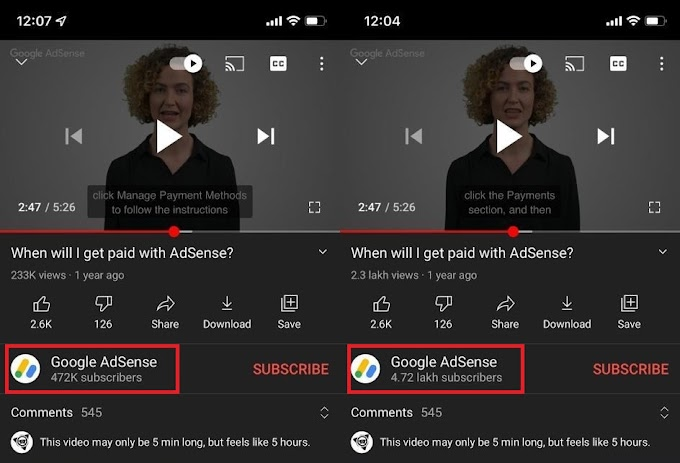 How to Change YouTube View Count From Lakhs to Millions in Android/iOS