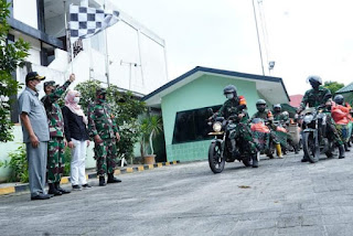 Pemko Tebing Tinggi Bersama Kodim 0204/DS dan Koramil 13/TT Salurkan Bantuan Paket Sembako Kepada Warga Terdampak Covid-19