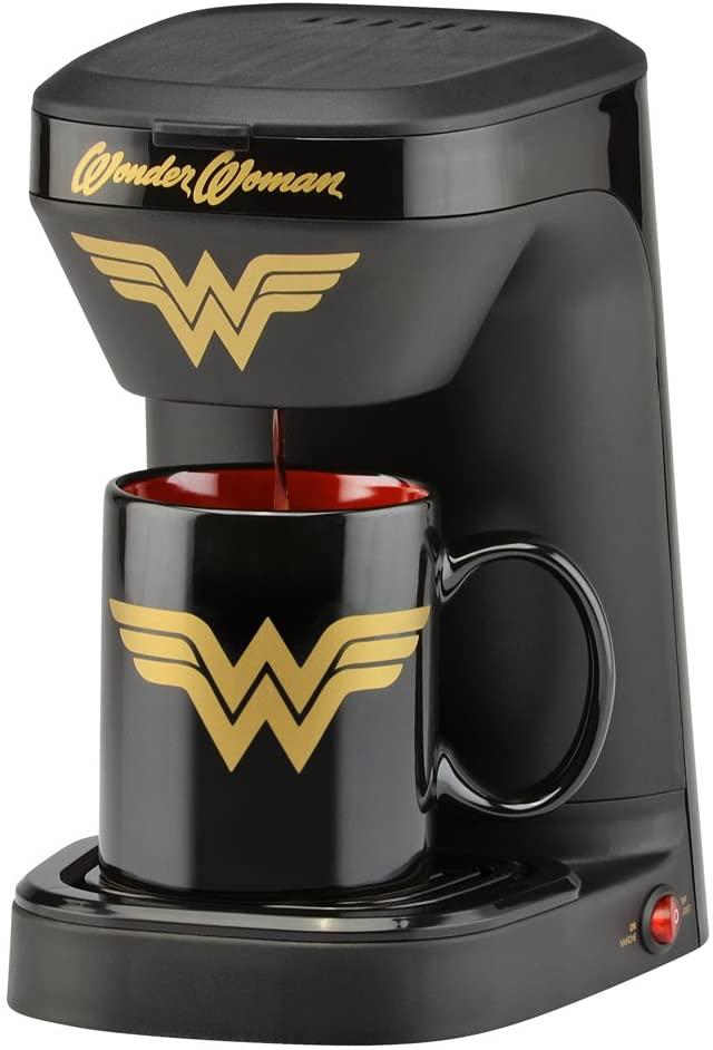 1 cup coffee maker with mug