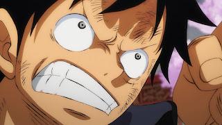 ワンピースアニメ 994話 ワノ国編   ルフィ かっこいい   ONE PIECE Monkey D. Luffy