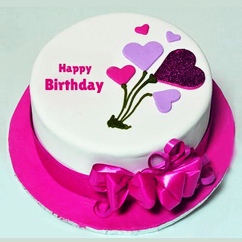 happy birthday cake images with name and photo