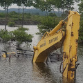 Excavator Milik Pemko Langsa Tenggelam di Aceh Timur, Ini Kata LSM Komunitas Rumoh Aceh