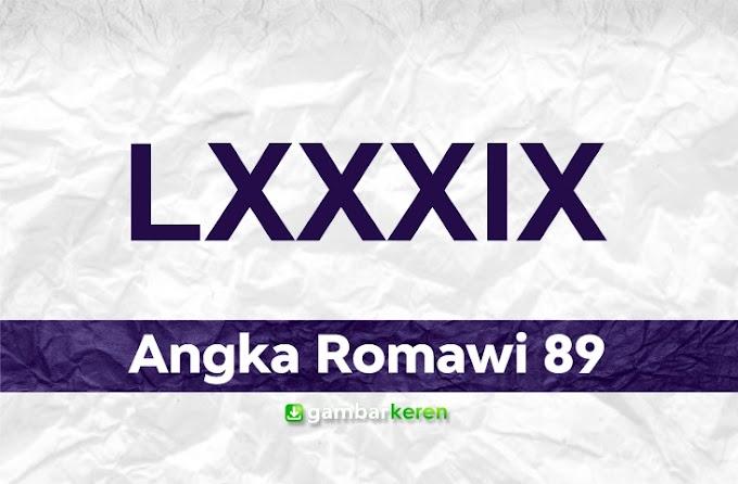 Angka Romawi 89