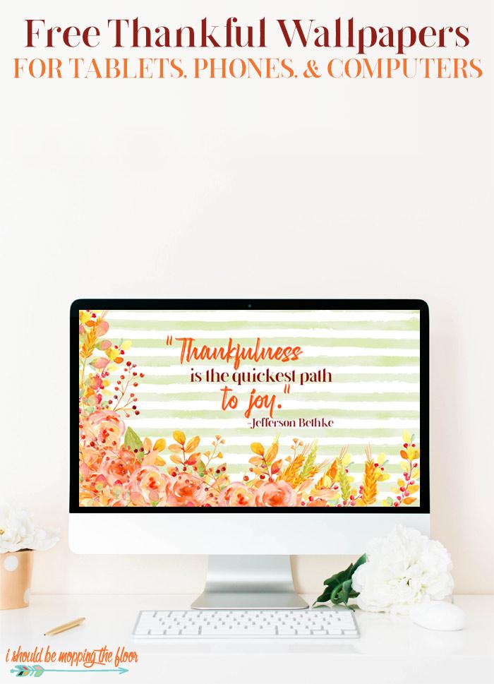 Thankful Wallpaper