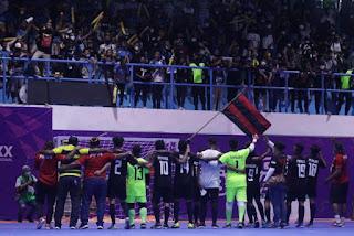 Tambah Emas,  Tim Futsal Papua Libas Jabar 4 - 2 PON XX