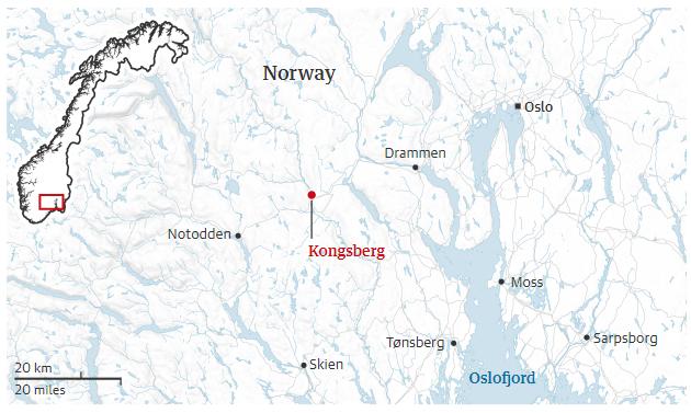 Norway,Espen Andersen Bråthen, Kongsberg,Oslo,Ole Bredrup Sæverud,Anders Behring Breivik,Tonje Brenna,Jan Christian Vestre,harbouchanews