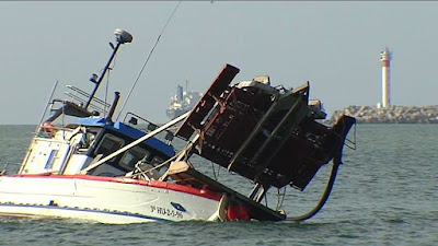 Nuadibú: un pesquero portugués se hundió y 2 tripulantes mauritanos desaparecieron