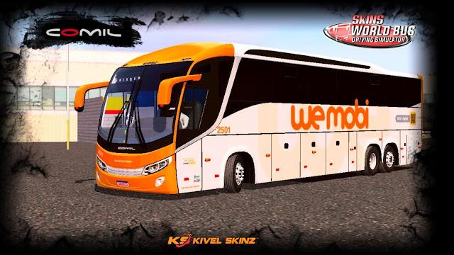 COMIL 1200 6X2 - VIAÇÃO WE MOBI A SERVIÇO DA PLANALTO