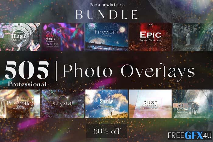 505 Photo Overlays Bundle 2.0