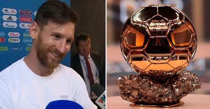 Lionel Messi names 4 players who deserve to win 2021 Ballon d'Or