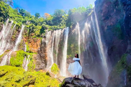 The Beauty of Tumpak Sewu Waterfall has a Unique Formation