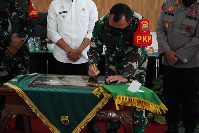 Danrem 022/PT  Pimpin Acara Penutupan TMMD ke - 112 Tahun 2021 Kodim 0207/Simalungun