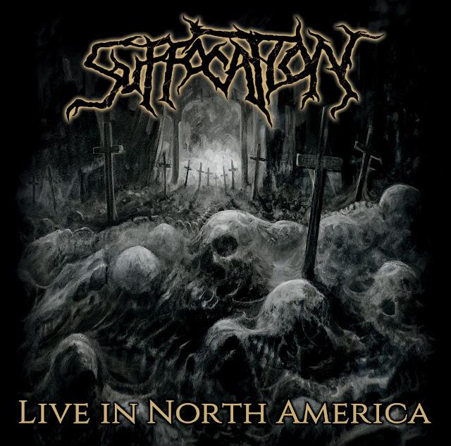 "SUFFOCATION "" Live In North America""   New Live Album"