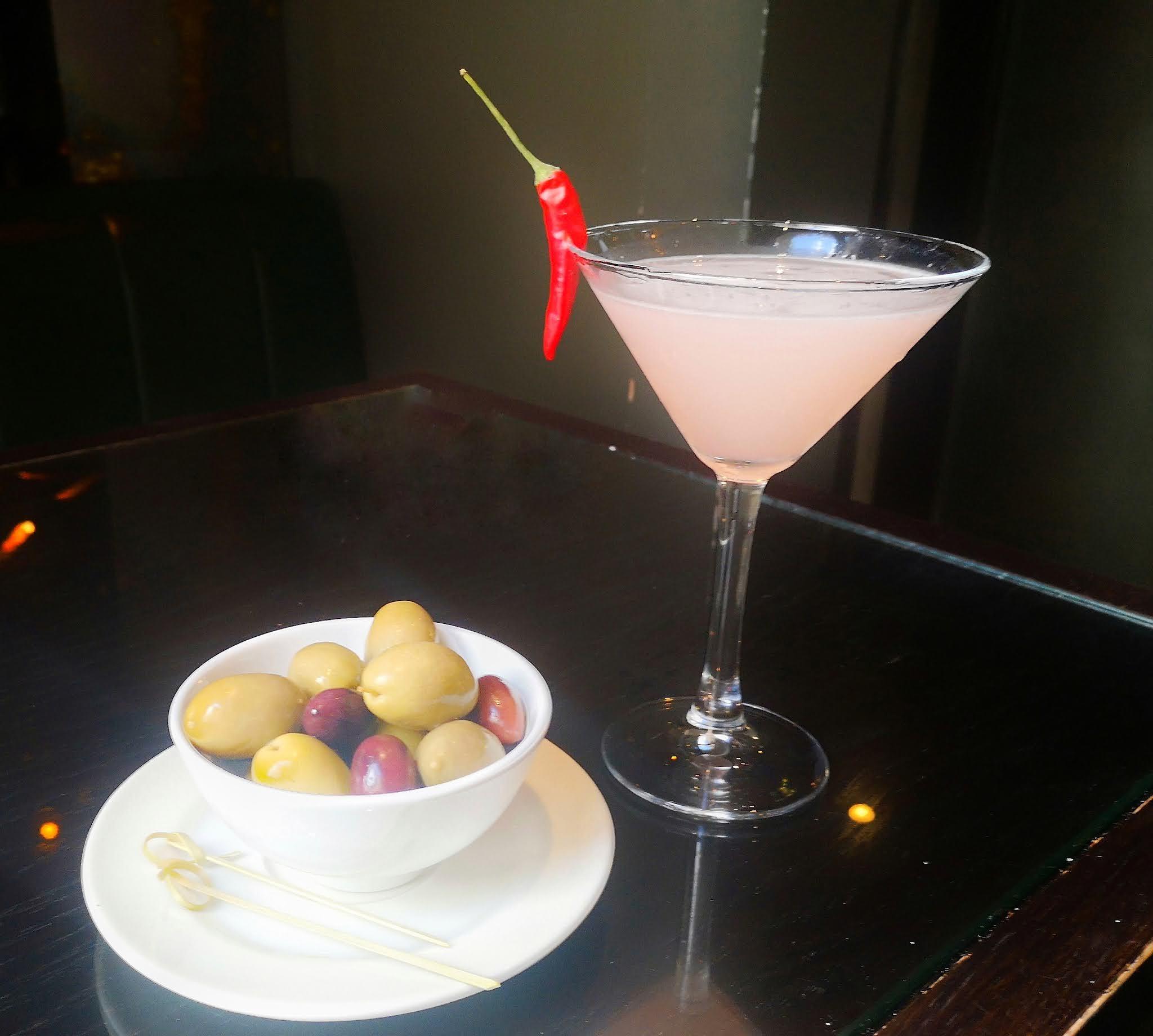 Christopher's Martini bar