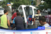 Diseruduk Mobil Dari Belakang, Pemotor Di Tuban Pingsan