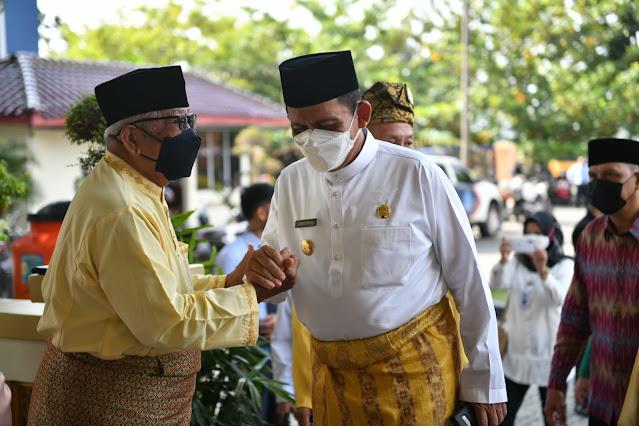 Gubernur Kepri Didampingi Bupati Karimun Gelar Pertemuan dengan Kepala SMK se Kabupaten Karimun