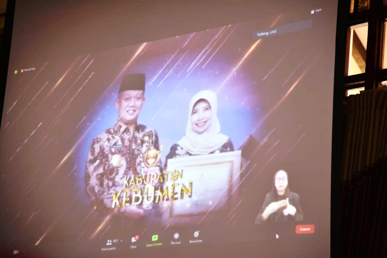 Kebumen Pertahankan Penghargaan Anugerah Parahita Ekapraya 2020