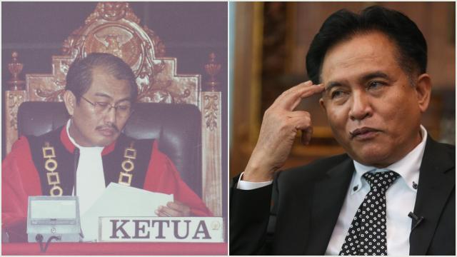 Sindir Balik Prof Jimly, Yusril: Apa Pantas Mahkamah Konstitusi Menguji UU MK