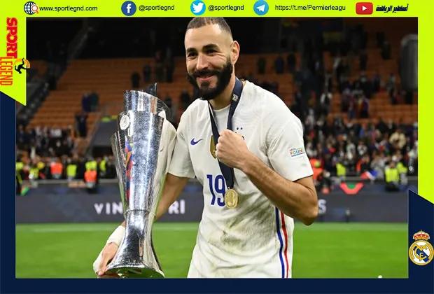 منتخب فرنسا يفوز بلقب دوري الأمم الأوروبية