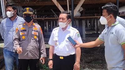 Wabup Sidrap Mahmud Yusuf Resmikan Kampung Peduli Gizi PT Cargill Indonesia, Peresmian Tetap Mengedepankan Protokol Kesehatan