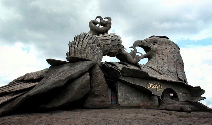 Jatayu Park, Kerala   Best Places to Visit in India