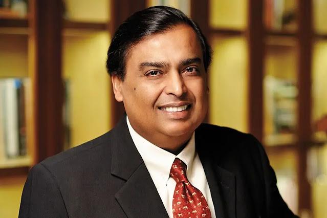 Indian billionaire Mukesh Ambani