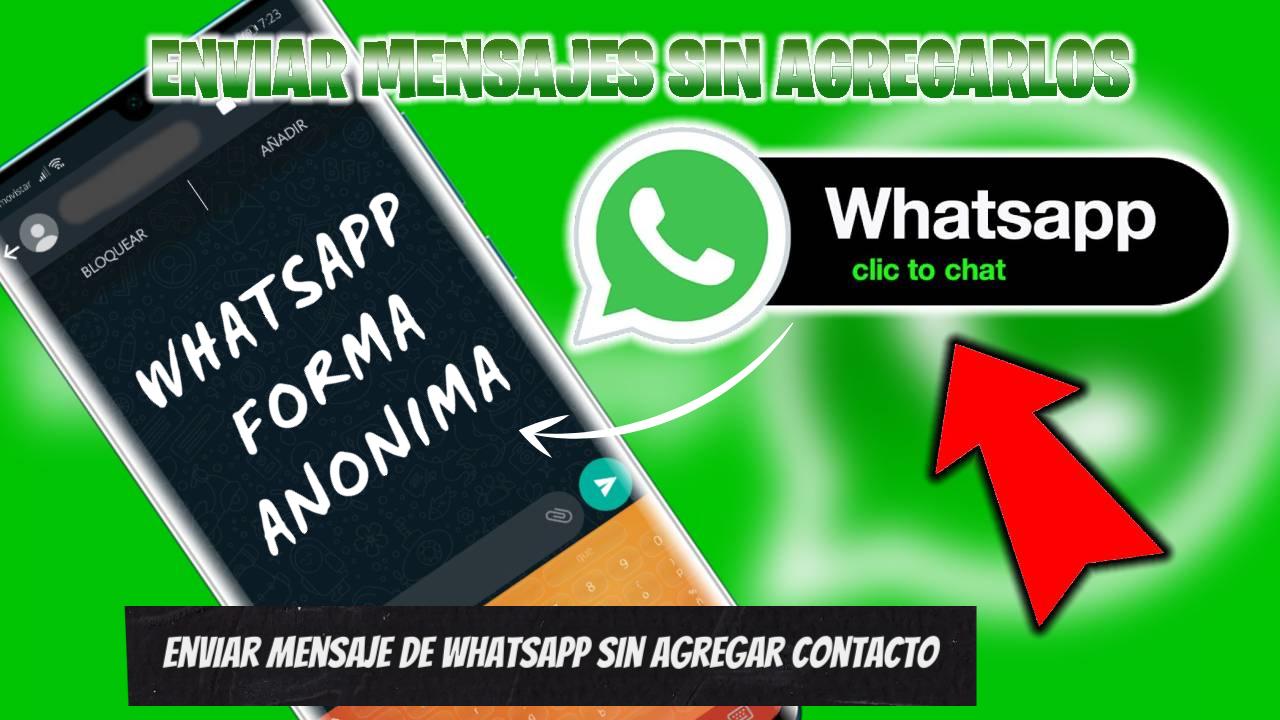 Enviar mensaje de WhatsApp sin agregar contacto