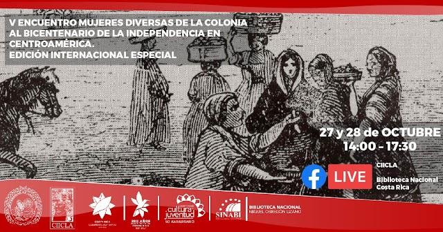 Próximas actividades de la Biblioteca Nacional de Costa Rica - octubre 2021