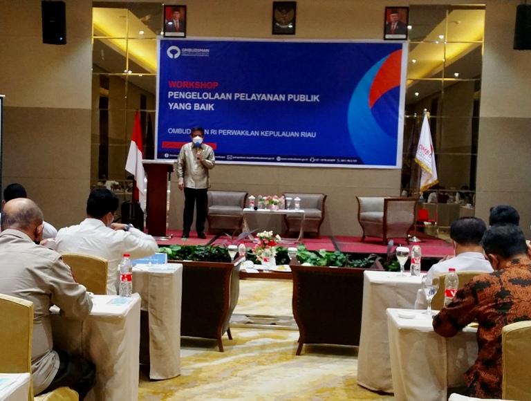 Pengelolaan Pelayanan Publik, Berikut Harapan Gubernur Kepri dan Ombudsman RI