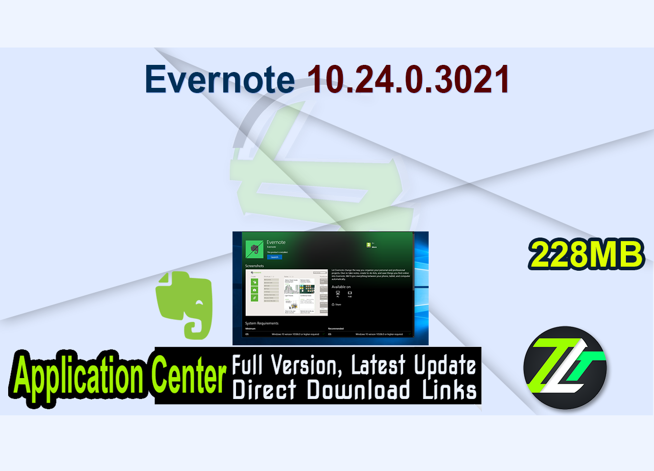 Evernote 10.24.0.3021